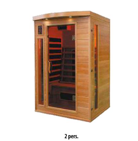 Sauna infrarouge 2pers.